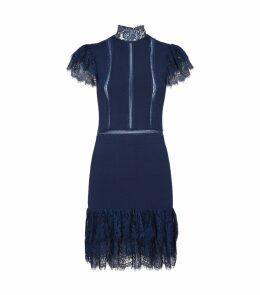 Lace Trim Roset Dress