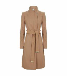 Wrap Belted Ellgenc Coat