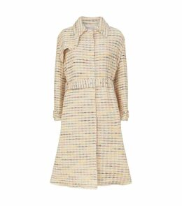 Orgosolo Woven Belted Trench Coat