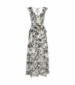 Claudita Abstract Maxi Dress