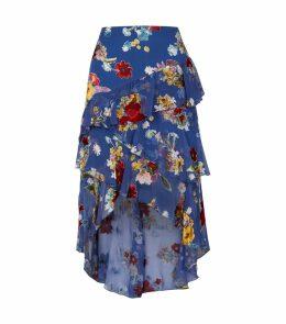 Mariel Floral Ruffle Skirt