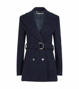 Wool Belted Coat