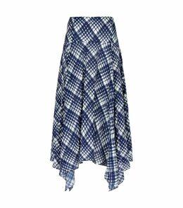 Maggie Asymmetric Midi Skirt