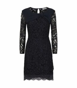 Long-Sleeved Lace Dress