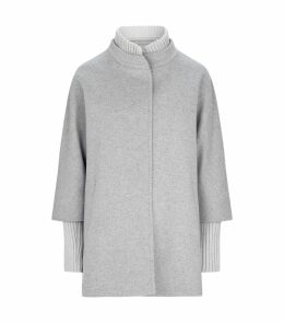 Wool Ribbed Coat