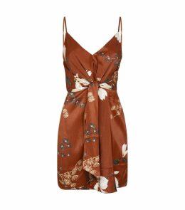 St Lucia Floral Mini Dress