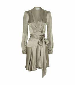 Wrap Joan Mini Dress