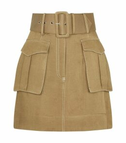 Belted Ellington Skirt