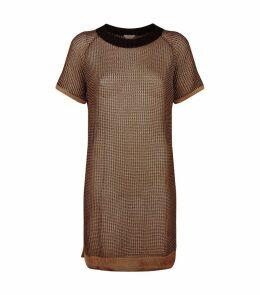Macro Fish Scale Tunic Dress