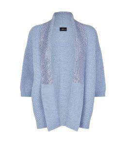 Swarovski Embellished Cashmere Cardigan