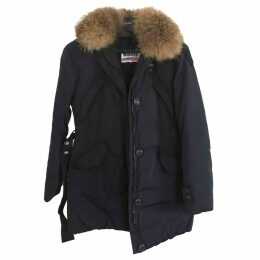 Navy Synthetic Coat
