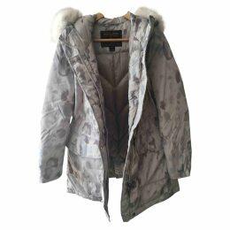 Multicolour Polyester Coat