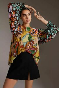 Anthropologie Charlie Leather and Suede Trainers - Black, Size 40