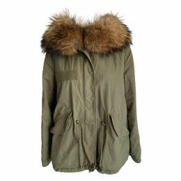 Green Cotton Coat
