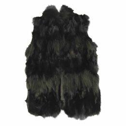 Fox cardi coat