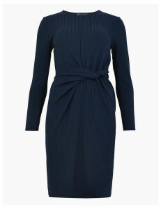 M&S Collection Ribbed Jersey Bodycon Mini Dress