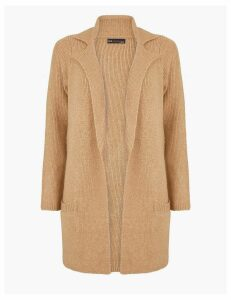 M&S Collection Ribbed Knitted Jacket
