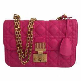 DiorAddict leather handbag