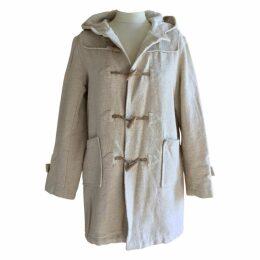 Ecru Cotton Coat