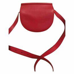 Infinity leather crossbody bag