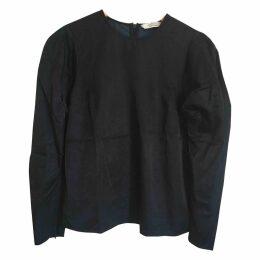 Navy Cotton Top