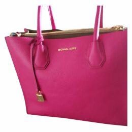 Mercer leather handbag