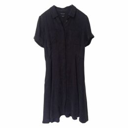 Grey Synthetic Dress