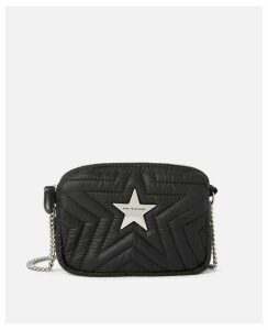 Stella McCartney Black ECONYL® Stella Star Mini Bag, Women's, Size OneSize