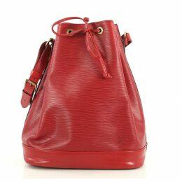 Noé leather crossbody bag