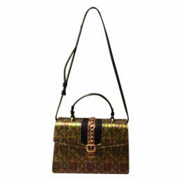 Sylvie silk handbag