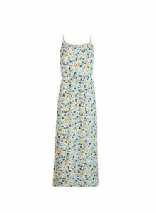 Womens **Only Multi Colour Floral Print Camisole Maxi Dress, Multi Colour