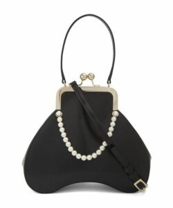 Baby Bean Beaded Leather Handbag