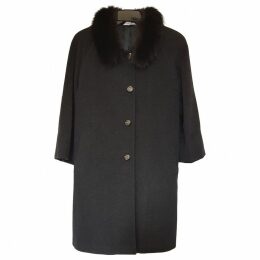 cashmere/wool coat