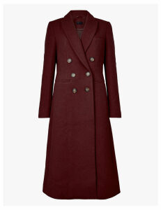 M&S Collection Waisted Overcoat