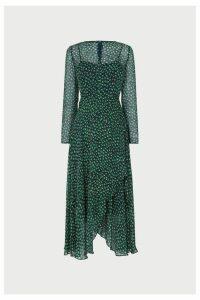 Womens L.K.Bennett Green Beya Dress -  Green