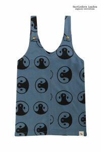Turtledove London Blue Penguin Pinafore -  Blue
