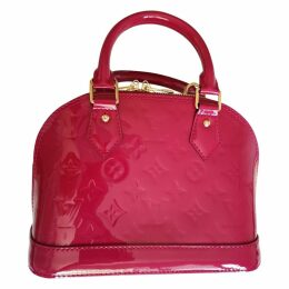 Alma BB patent leather handbag