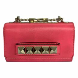 Vavavoom leather clutch bag