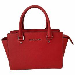 Selma leather handbag