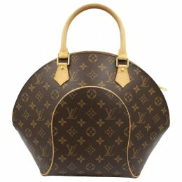 Ellipse cloth handbag