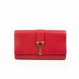 Chyc leather clutch bag