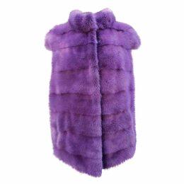 Mink cardi coat