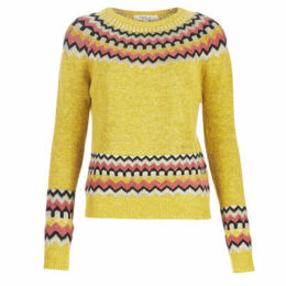 Derhy  EMAIL  women's Sweater in Yellow