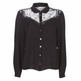 Naf Naf  H-EASY C1  women's Shirt in Black