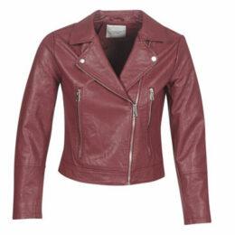 JDY  JDYILDE  women's Leather jacket in Red