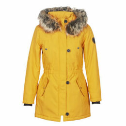 Only  ONLIRIS  women's Parka in Yellow