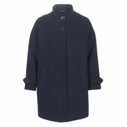 Benetton  STORI  women's Coat in Blue