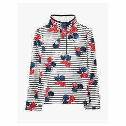 Joules Saunton Floral Sweatshirt, Navy/Lily Pad