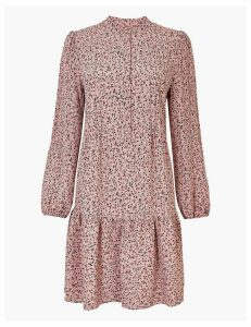 M&S Collection Ditsy Floral Print Relaxed Mini Dress