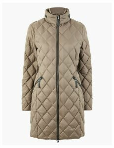 M&S Collection Quilted & Padded Coat